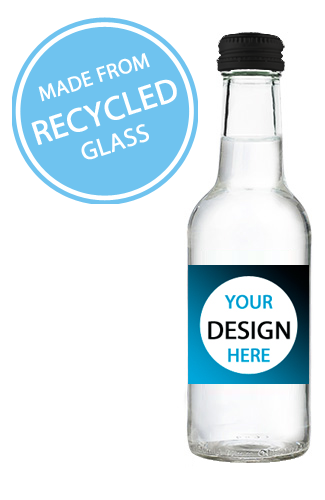 Branded Bottled Water UK - 330ml Glass