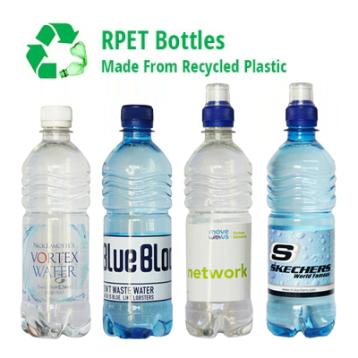 500ml rPET Promotional Water - Branded for You!