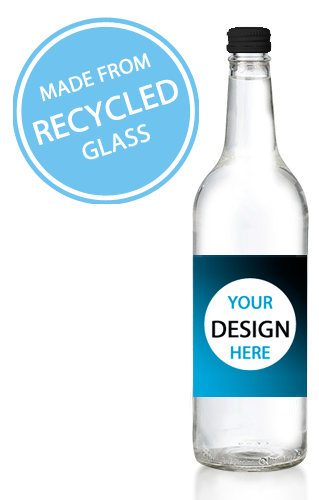 750ml Glass Promotional Water - Branded for You!