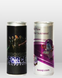 250ml Promotional Energy Drink - Your Label Design Printed or Directly Applied to the Cans